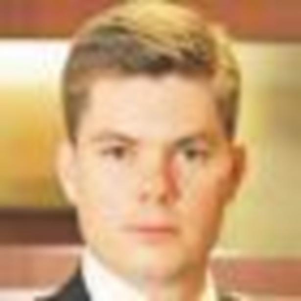 Michał Musielak, zarządza biurem podatkowym w banku; jest członkiem Prezydium Rady ds. Podatków Związku Banków Polskich. Fot. Marek Matusiak