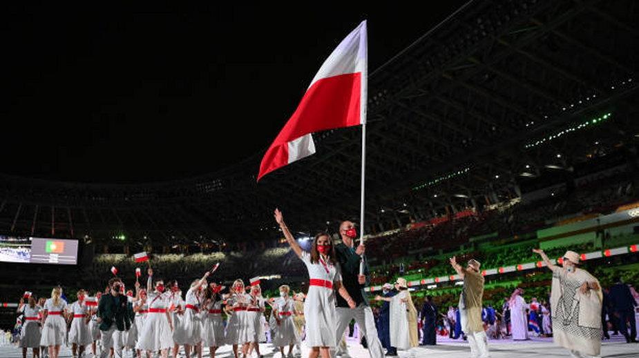 Ceremonia otwarcia IO (Maja Włoszczowska)