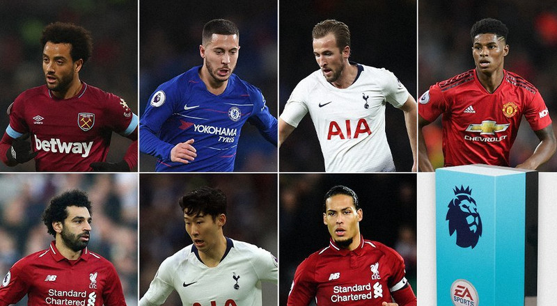 Salah, Kane lead nominees for Premier League Player of the Month award