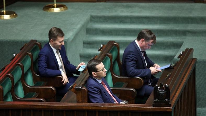 Mateusz Morawiecki, Łukasz Schreiber, Zbigniew Ziobro