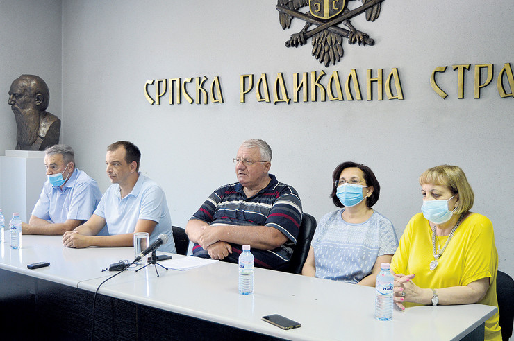Šešelj, Srpska radikalna stranka