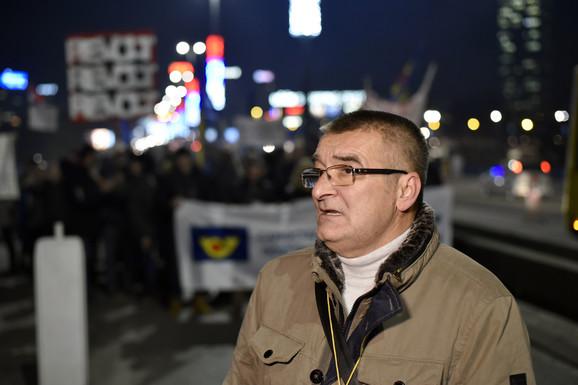 Zoran Pavlović, predsednik Samostalnog sindikata Pošte