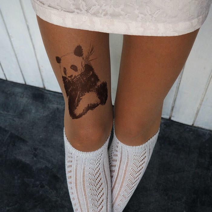 dd88db0149addb Rajstopy jak tatuaże. Zobacz dostępne modele - Noizz