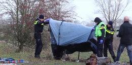 Młody Polak koczował w namiocie w Holandii. Doszło do dramatu