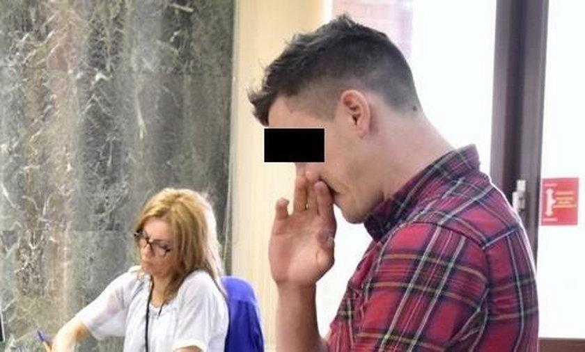 Kamil H. (25 l.) trafi na 1,5 roku do więzienia