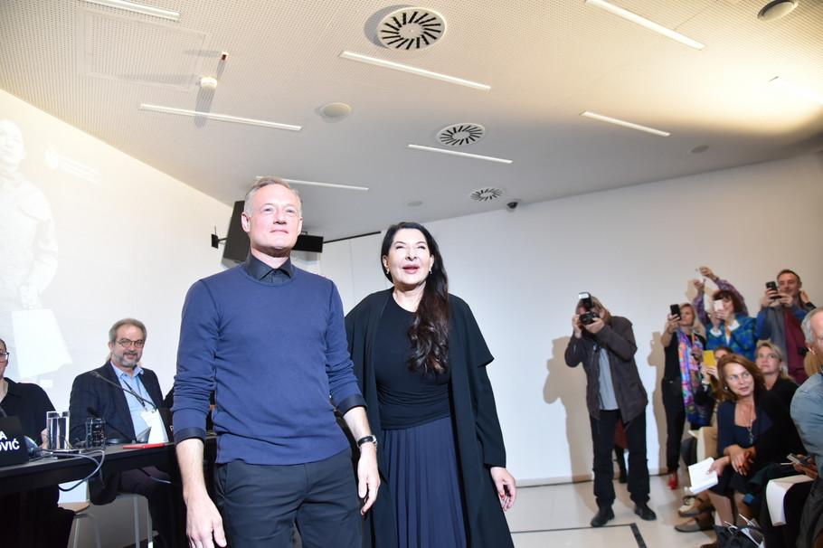 Marina Abramović i Tod Ekert