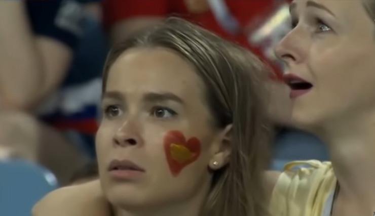 Navijačice Španije