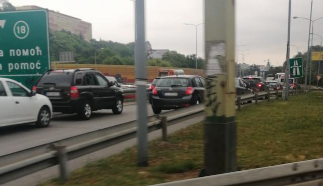 Autoput kod Mostarske petlje