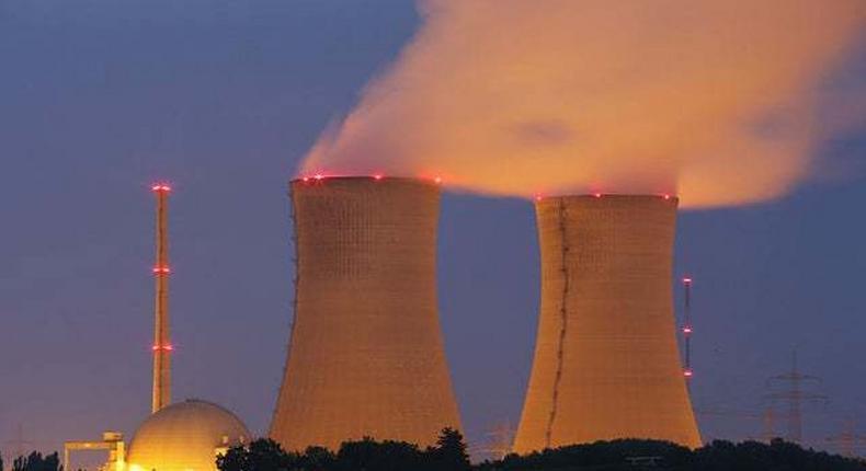 A nuclear power plant. (canacopegdl)