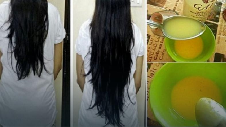 jajko na wypadające włosy