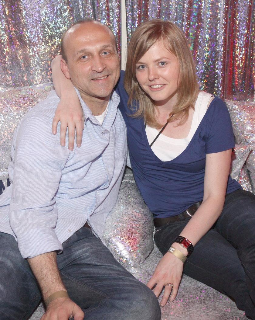 Kazimierz Marcinkiewicz i jego młoda żona