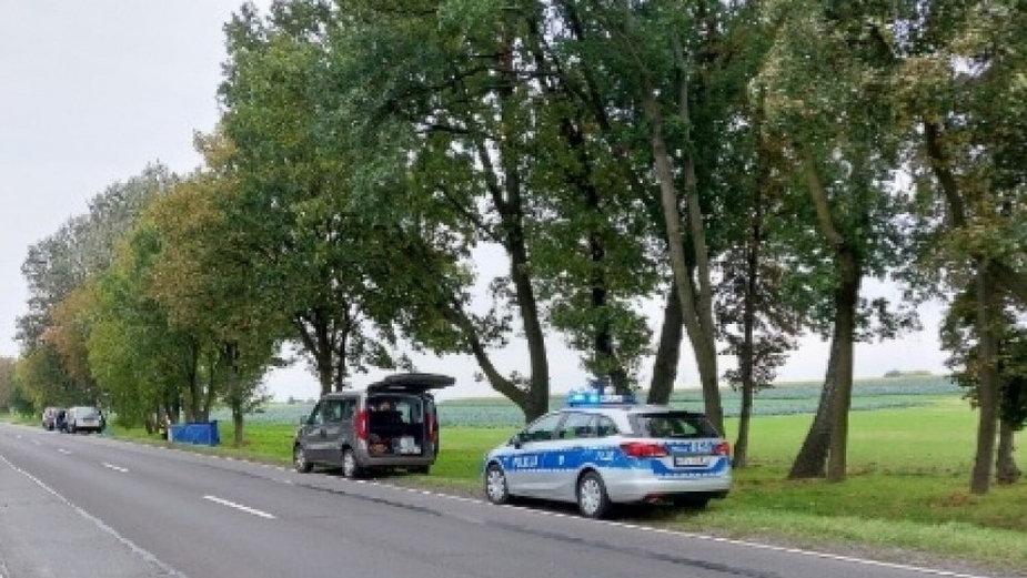 Śmiertelny wypadek w Słomkowie Suchym