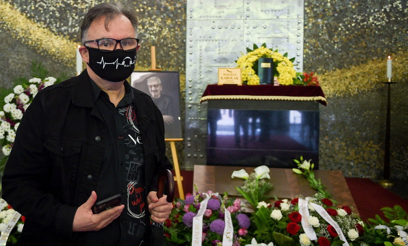 Pogrzeb Wojciecha Karolaka