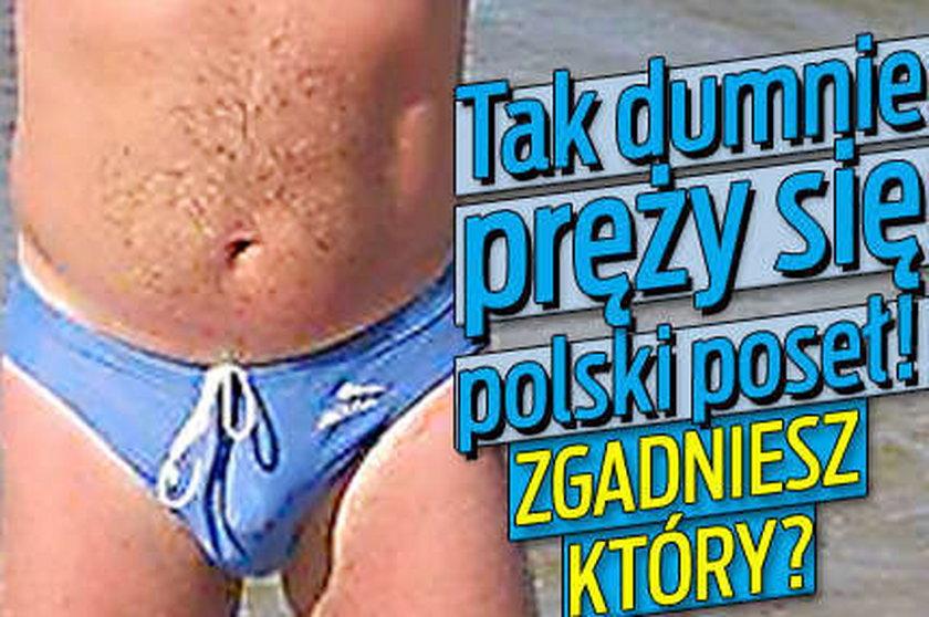 Tak dumnie pręży się polski poseł! Zgadniesz który?
