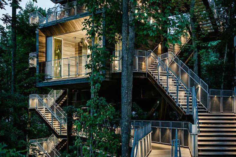 9. Sustainability Treehouse, USA