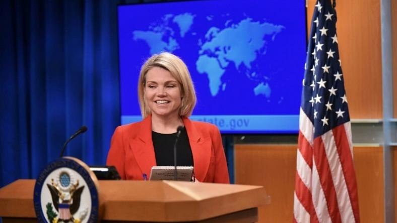 Heather Nauert spent 10 years as a Fox News correspondent and anchor before becoming State Department spokeswoman