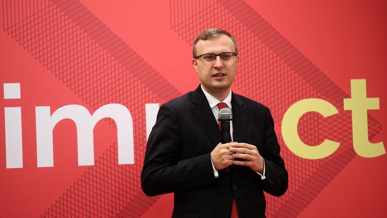 Prezes Zarządu Polskiego Funduszu Rozwoju Paweł Borys