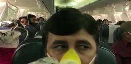 Przerażenie w samolocie. Pasażerowie zaczęli krwawić