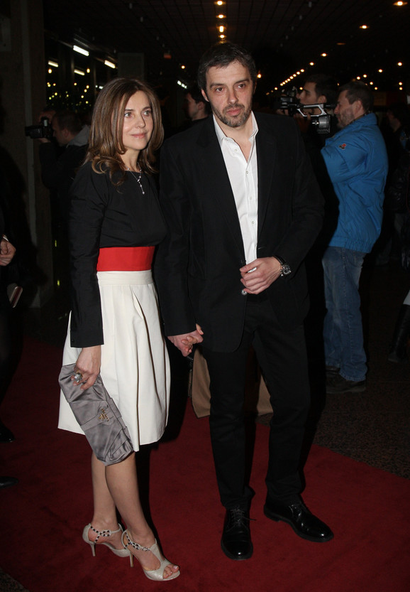 Snežana Bogdanović sa suprugom Uliksom