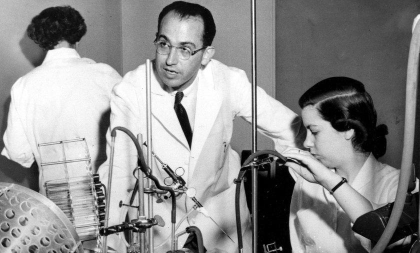 Produkcja szczepionki przeciwko polio