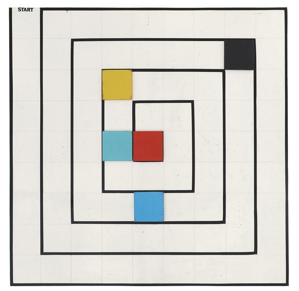 "Ryszard Winiarski, ""Gra nr 3"", 1976"