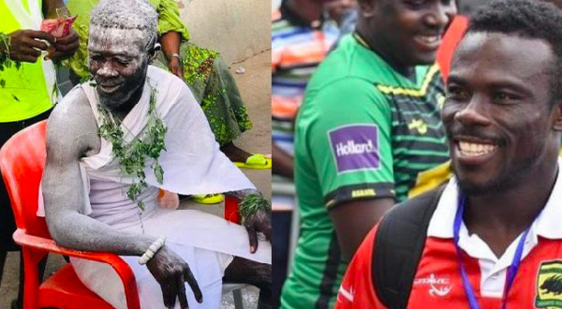 Ex-Kotoko defender Augustine Sefah denies being installed fetish priest