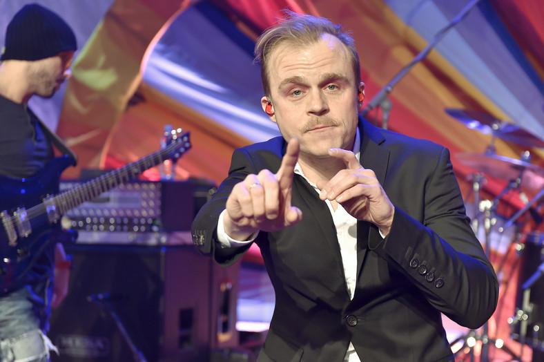 Piotr Rogucki z zespołem Coma