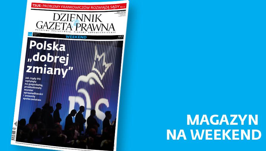 Magazyn DGP. Okładka. 4 października 2019