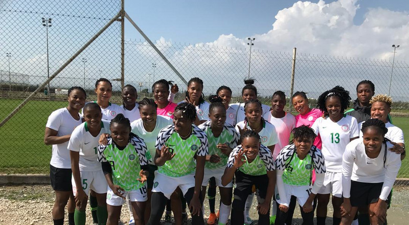 Super Falcons of Nigeria lose 1-4 to Austria in opening game of Cyprus Women's Cup