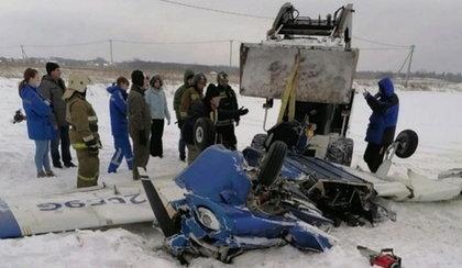 Dwa samoloty zderzyły się pod Petersburgiem. Są ofiary śmiertelne