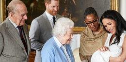 Królowa Elżbieta II po raz pierwszy zobaczyła swojego ósmego prawnuka!