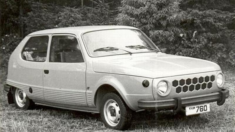 Trabant, model 760 z NRD