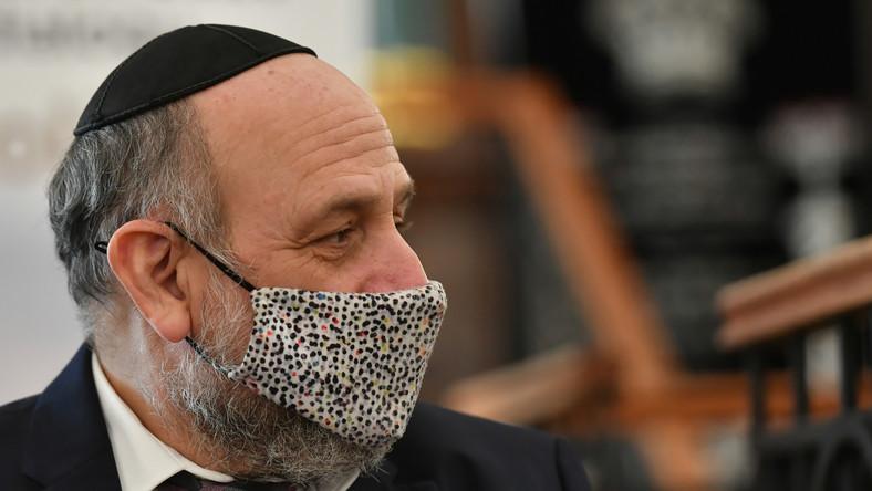 Naczelny rabin RP Michael Schudrich