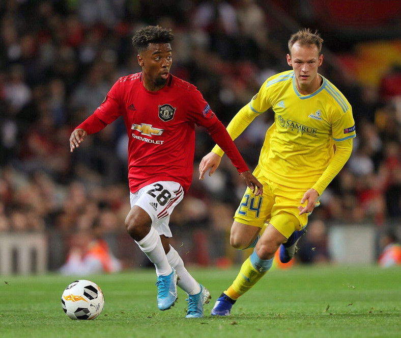 Angel Gomes has made 10 senior appearances for Manchester United (Twitter/Angel Gomes)