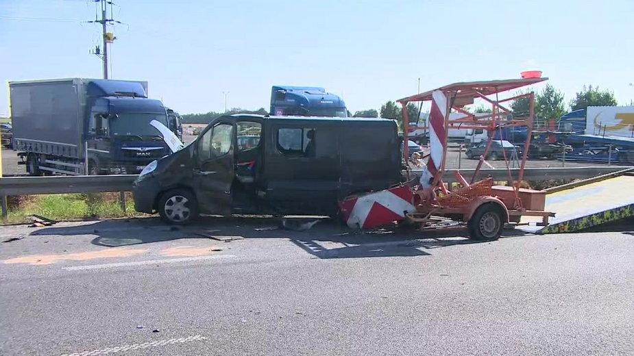 Śmiertelny wypadek na S11 w Kórniku. Kierowca z zarzutami ,wypadek na S11 fot. x-news