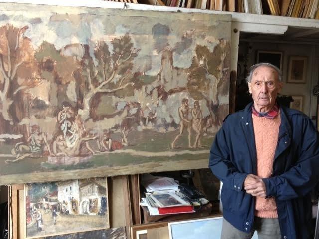 Marklen Mosijenko u ateljeu