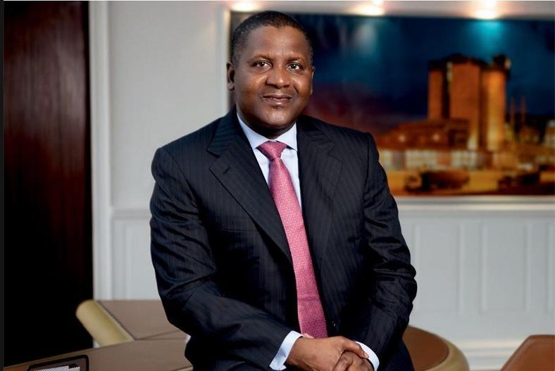 Africa's richest business man, Aliko Dangote