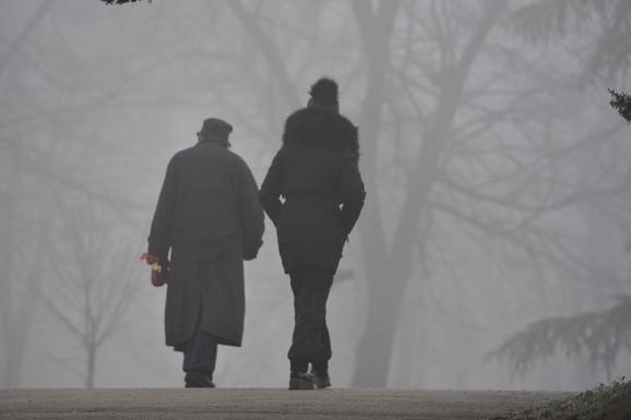 U narednim danima magla će biti satsavni deo svakodnevnice
