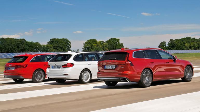Volvo V60 kontra Audi A4 Avant i BMW serii 3 - które kombi będzie lepszym wyborem