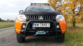 Mitsubishi L200 Monster - nie boi się ciężkiej roboty | TEST