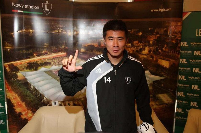 Chińczyk chce być mistrzem Polski