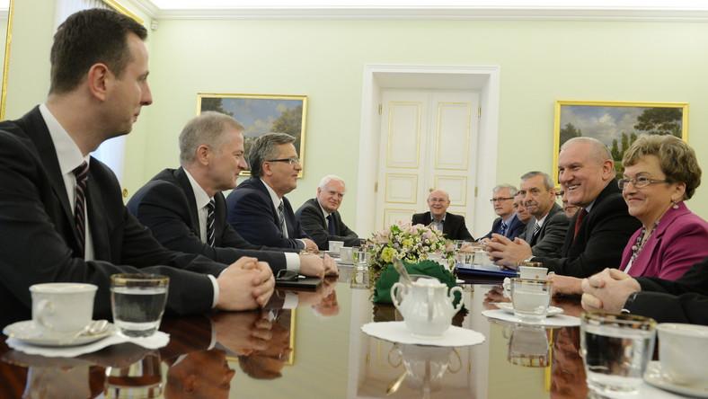 Prezydent po spotkaniu ze związkowcami: Nowe kryterium przejścia na emeryturę