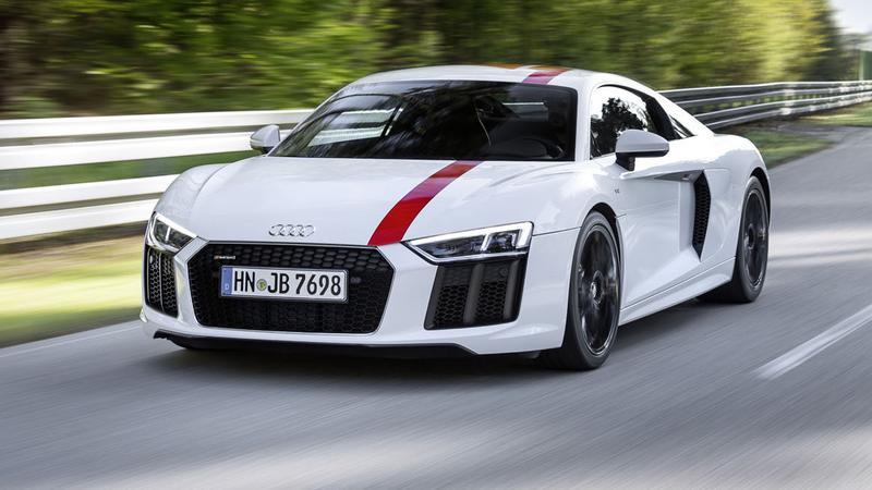 Audi R8 V10 RWS - dla tych co potrafią jeździć