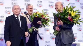 Antoni Krauze i Andrzej Krauze z nagrodą im. L. Kaczyńskiego