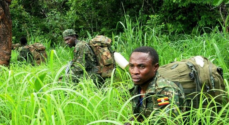 Ugandan soldiers have been fighting the Lord's Resistance Army, which has terrorised parts of central Africa for 30 years