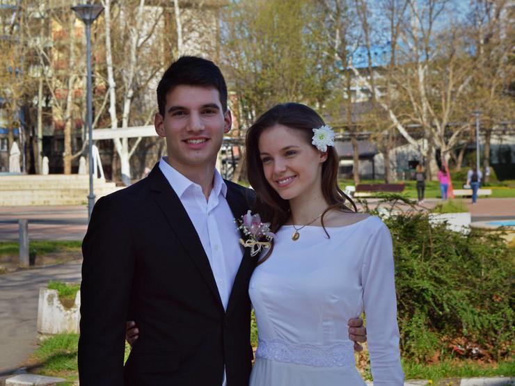 Marija Kolašinac, Stefan Morović, bračni par iz studenjaka