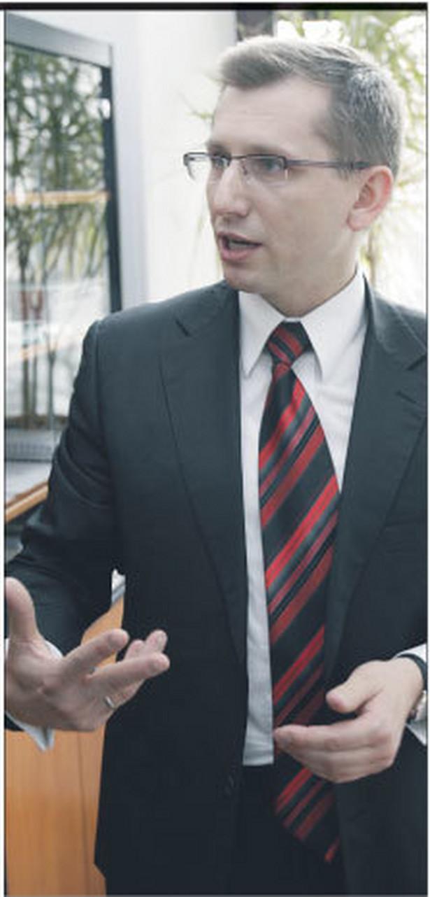 Krzysztof Kwiatkowski, wiceminister sprawiedliwości, senator VII kadencji. W Senacie przewodniczył Komisji Ustawodawczej Fot. Wojciech Górski