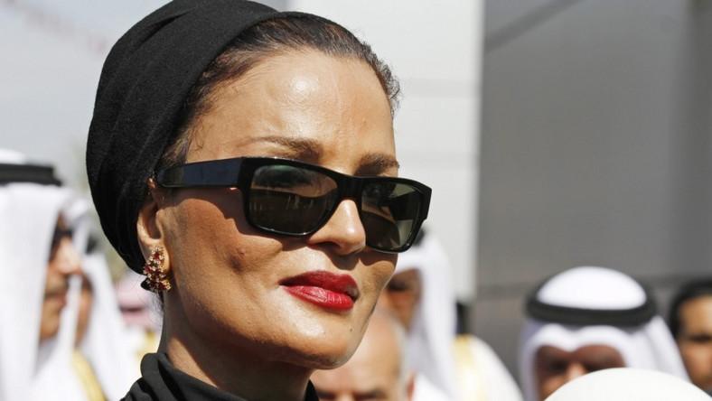 Druga z trzech żon emira Kataru często towarzyszy mu podczas oficjalnych podróży