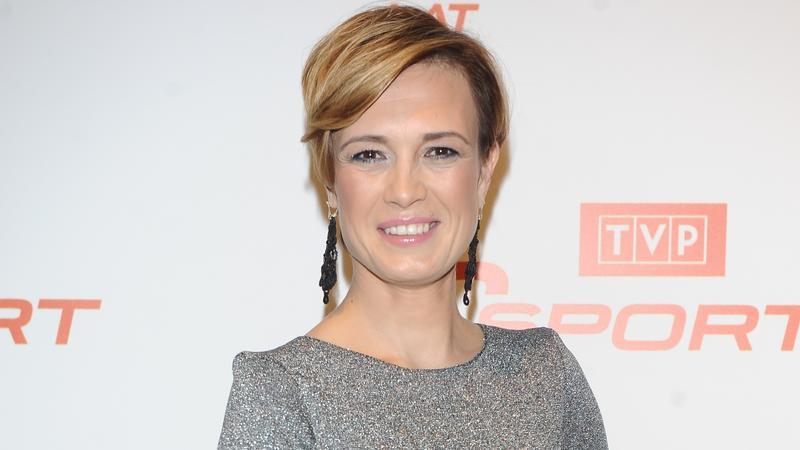 Paulina Chylewska na urodzinach TVP Sport