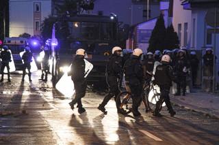 Zamieszki w Lubinie: Już 62 zatrzymanych, wobec 8 wnioski o areszt